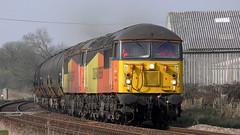 56078 & 56090 6E32 Preston - Lindsey 04/04/19. (Mr Corbett's stuff) Tags: 56078 56090 6e32 preston lindsey bitumen tanks