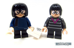 Different variants of Edna Mode (WhiteFang (Eurobricks)) Tags: lego minifigures cmfs collectable walt disney mickey characters licensed design personality animated animation movies blockbuster cartoon fiction story fairytale series magic magical theme park medieval stories soundtrack vault franchise review ancient god mythical town city costume space