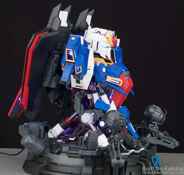BSC Zeta Gundam Bust 13 by Judson Weinsheimer