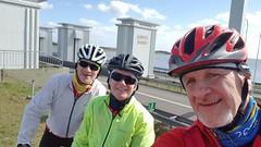 20190331_142029 (MarnixHegen) Tags: afsluitdijk laatstedag afsluiting cycling racefiets