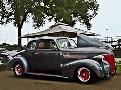 Chevy Coupe (novice09) Tags: backtothefifties carshow chevrolet 1939 coupe streetrod photoscape ipiccy