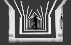 The crossing (kruser1947 (all killer no filler)) Tags: bw blackwhite monochrome abstract