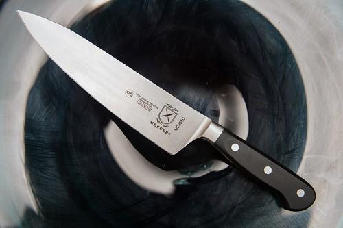 Mercer kitchen knife