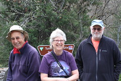 Three-fifths of our little group (rozoneill) Tags: sterling mine ditch trail ruch jacksonville oregon hiking blm little applegate river