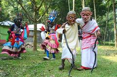 Gomira Mask Dancers of Bengal (pallab seth) Tags: gomiramask artisans dancers bengal india mukhakhel mahisbathan khuniadanga kushmandi craftsmen crafts maskmakers woodenmask ancient ritual tradition maskdance folkart artists animism rituals dance