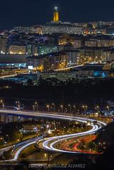 2019!!! (Emilio Rodríguez Álvarez) Tags: coruna coruña galicia galiza torre hercules nocturna spain 2019
