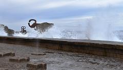 Peine del Viento (manon.sln) Tags: san sebastian spain vague peine del viento houle mer nikon rochers côte
