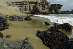 Green Sand Beach_27A9278 (Alfred J. Lockwood Photography) Tags: alfredjlockwood nature seascape landscape greensandbeach pacificocean rocks travelphotography bigisland noon hawaii sunbather winter