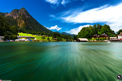 A Crisp Day in Königssee (AM Vision) Tags: landscape nature lake königssee germany austria exposure colors water bayern sunshine crisp huts valley hiking boating mountains alps