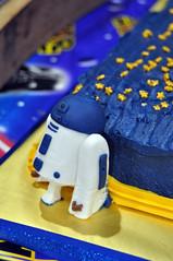 Cub Scouts Blue & Gold Ceremony Star Wars Cake 12 (rikkitikitavi) Tags: custom cake dessert vanilla chocolate buttercream fondant handsculpted handmade starwars r2d2 yoda stormtrooper chewbaca bb8 cubscout blueandgoldceremony bluegoldbanquet