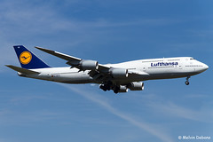 Lufthansa Boeing 747-830  |  D-ABYO  |  Frankfurt Rhein-Main  - EDDF (Melvin Debono) Tags: lufthansa boeing 747830 | dabyo frankfurt rheinmain eddf cn 37841 melvin debono spotting canon airport airplane aviation aircraft plane planes photography fra deutschland germany