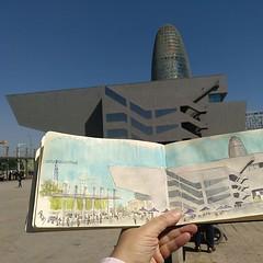 BCD Barcelona Centre de Disseny (Fotero) Tags: ifttt instagram usk urbansketch urbansketching urbansketcher dibujo acuarela watercolor cuaderno cuaderno18 insitu fromthelive tercerdissabte uskbarcelona barcelona glories