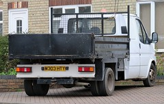 M303 HTY (Nivek.Old.Gold) Tags: 1995 ford transit 190 lwb tipper 2496cc diesel cowietruckvan sunderland
