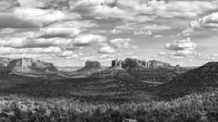 Sedona Panorama (jonwhitaker74) Tags: red landscape arizona az sedona clouds panorama