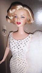 2001 Marilyn Monroe Doll (5) (Paul BarbieTemptation) Tags: 2001 timeless treasures collector edition marilyn monroe barbie doll happy birthday mr president