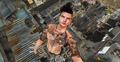 Selfie (Sebastriano) Tags: the men jail tmj event inker tattoo heron eyes hkd necklace