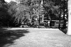 BWLR 88197bw (kgvuk) Tags: bwlr bredgarandwormshilllightrailway kent railway narrowgauge train steamtrain locomotive steamlocomotive steamengine zambezi 042t limpopo 060t