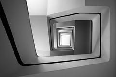 Squiral (matt.kueh) Tags: staircase spiral blackandwhite monochrome sonyilce7m2 sonyfe1635mmf4zaoss geometry abstract architecture