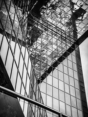 Angles-bw (Мaistora) Tags: building architecture abstract mirror shape geometry graphic design office bridge londonbridge onelondonbridge angle pov perspective london england britain uk leica dlux typ109 lightroom glass windos facade bw bnw blackandwhite mono monochrome black white greyscale contrast