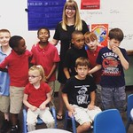 """Jesseca and her students on the last day of school <a style=""""margin-left:10px; font-size:0.8em;"""" href=""""http://www.flickr.com/photos/124699639@N08/33496434058/"""" target=""""_blank"""">@flickr</a>"""