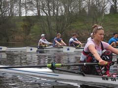 IMG_0917 (NUBCBlueStar) Tags: rowing remo rudern river aviron february march star university sunrise boat blue nubc sculling newcastle london canottaggio tyne hudson thames sweep eight pair