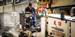 street work on a wednesday morning (steve: they can't all be zingers!!! (primus)) Tags: sonya7r canonnfd50mmf14 sony primelens prime primecanonlens 50mm taiwan taichungtaiwan taichung
