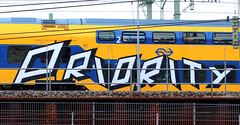 traingraffiti (wojofoto) Tags: amsterdam nederland netherland holland graffiti streetart traingraffiti treingraffiti trein train wojofoto wolfgangjosten priority nsa