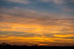 evening sky / @ 55 mm / 2019-03-29 (astrofreak81) Tags: explore clouds sunset sun wolken sonnenuntergang sonne sky himmel heaven light dawn redsky evening abend red orange dresden 20190329 astrofreak81 sylviomüller sylvio müller