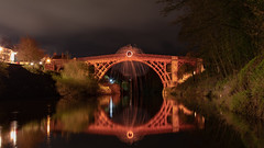Telford's Iron Bridge (pboolkah) Tags: canon5d canon canon5dmkiv telford bridge river reflections reflection
