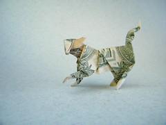 Cat - Stephen Weiss (Rui.Roda) Tags: origami papiroflexia papierfalten dollar money folding chat gato cat stephen weiss