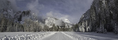 A Closed Park On A Winter's Afternoon (WJMcIntosh) Tags: yosemite yosemitenationalpark winter snow yosemitefalls
