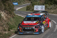 WRC Rally De Espana 2018 _306-Edit.jpg (B0B B) Tags: wrc rallying citron rallyracccatalunya rallydeespaña santamarina sabastianloeb danielelena citroënc3 supershot