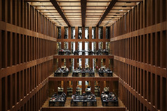 Library (衰尾道人 www.ethanleephoto.com) Tags: library interior berlin germany university campus max dudler grimm bibliothek