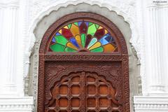 Port-Louis : porte de la mosquée Jummah (philippeguillot21) Tags: jummah mosquée madinat camii porte portlouis door mauritius indianocean océanindien afrique africa maurice pixelistes canon