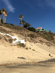 Lone chalet (markshephard800) Tags: chalet canaries canarias house home trees sand sable steep path steps beach plage
