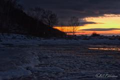 DSC_7923ext.jpg (GrandView Virtual, LLC - Bill Pohlmann) Tags: up upperpeninsula blackriverharbor greatlakes bessemermi winter sunset ice breakwater lakesuperior michigan