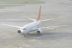 Untitled Boeing 737-700 (BBJ); HL7227@ZRH;21.01.2019 (Aero Icarus) Tags: zrh zürichkloten zürichflughafen zurichairport lszh plane aircraft flugzeug avion