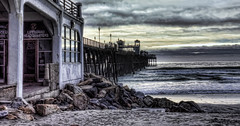 Pier Sundown 20-1-17-19 (rod1691) Tags: walkabout oceanside pier california sundown beach ocean sand surf