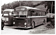 Crosville Bus SMG450. (ManOfYorkshire) Tags: oswestry wales welsh bus bristol d84 mw6g ecw easterncoachworks 1963 smg450 bw crosville converted mobile home newzealand exported driven australia 7xs191 ph7375 traveller travellers