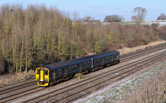 150244. (curly42) Tags: 150244 class150 1502 sprinter railway gwr standish transport travel 1o99 publictransport dmu unit