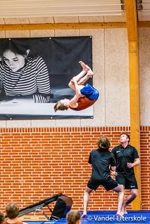 Første gymnastikopvisning 08. februar 2019