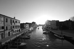 Venice - 39 (Martin C. Smith) Tags: blackandwhite canal g3 hf007014 lumix monochrome murano panasonic venice wideangle