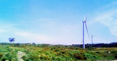 Bangui Bay Windmill (suerteflor) Tags: structural tower adventures beach resorts floating cottage stream rock formations elevations historical church sand dunes palm sunset sunrise flowers ice cream sweets love ilovered swimsuits cars electricity current civil engineer engineering office developers figures enjoy life greengraybrown webbers iloveblackoutfit siteinspection ephesians61018 infinity red