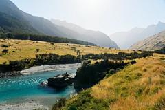 20190207-08-Blue glacial water (Roger T Wong) Tags: 2019 nz newzealand rogertwong sel24105g sony24105 sonya7iii sonyalpha7iii sonyfe24105mmf4goss sonyilce7m3 southisland westmatukitukivalley bend blue bushwalk erosion glacial hike landscape outdoors river tramp trek valley walk