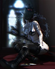 The Black Speech (Alisa Perne) Tags: alisa26 alisaperne secondlife sl enchantment lordoftherings azoury eudora3d yasum white~widow tattoo cubiccherry dreamcatcher sempiternal static elf
