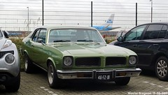 Pontiac Ventura 1974 (XBXG) Tags: 46fzjb pontiac ventura 1974 pontiacventura coupé coupe v8 green vert fokkerweg fokkerpark oude meer oudemeer vintage old classic american car auto automobile voiture ancienne américaine us usa vehicle outdoor