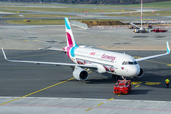 Eurowings, Airbus A320-214, MSN 7439, D-AEWS (Kilian Feßler) Tags: eurowings airbus a320 eddh hamburg airport daews