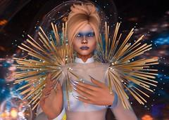 Queen of Space and Time (Sweet.Bliss) Tags: belleepoque stargazer stargazercreations zibska lumae sntch mina nyne ascendant secondlife fantasy scifi myth legend goddess