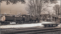 Baldwin 2-6-6-2 (NoJuan) Tags: infrared infraredconversion digitalinfrared micro43infrared locomotive steamlocomotive northwestrailwaymuseum washingtonstate pacificnorthwest ep5 olympusep5 918mm olympus918mm baldwin baldwinlocomotive baldwin2662