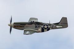 North American P-51D Mustang, 'The Hun Hunter \Texas' at Flying Legends 2018, Duxford UK (N351MX) (Jeroen.B) Tags: 2018 air airshow duxford egsu flying flyinglegends legends show uk warbird north american p51d p51 mustang hun hunter texas n351mx